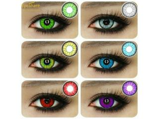 1Pair Unisex Multicolor Color Contact for Eye Charming Makeup