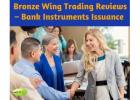 Bronze Wing Trading Reviews – Bank Instruments Issuance