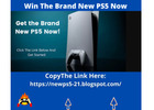 Get the Brand New Ps5 Now !!